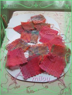 Weave-it hand loom squares