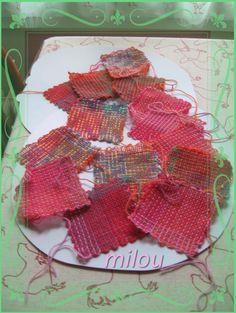 métier Weave-it hand loom squares