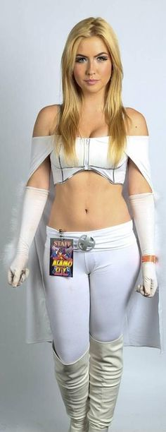 Character: Emma Frost (aka The White Queen) / From: MARVEL Comics 'Uncanny X-Men' / Cosplayer: Unknown