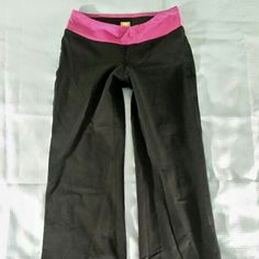Lucy Active Wear Yoga Pants Small Black