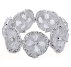 Buy Kenneth Jay Lane Resin & Crystal Floral Comfort Bracelet, Kenneth Jay Lane and Bracelets from The Shopping Channel, Canada's home shopping network - Online Shopping for Canadians