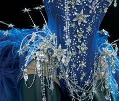 Kylie Minogue's Costume - star-shaped Swarovski crystals