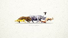 Low Poly Animal Wallpaper 1080p 1920x1080 px 321.99 KB Animal Phone Wallpapers. Iphone. Landscape.