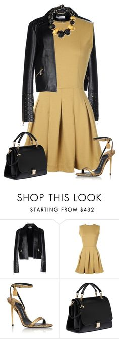 """Untitled #2753"" by elia72 ❤ liked on Polyvore featuring Versace, TheP., Tom Ford, Miu Miu and Viktoria Hayman"