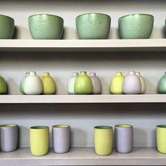 Summer seasonal colors @Heath  (at Heath Ceramics)