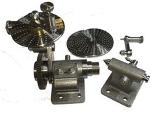 SMALL DIVIDING HEAD / INDEXING HEAD with worm ratio 60:1