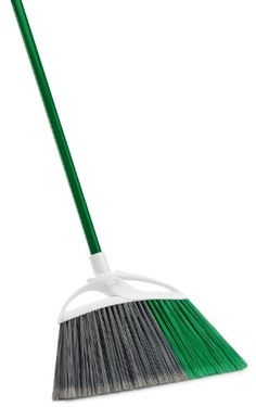 Libman 211 Extra Large Precision Angle Broom with Recycled Broom Fibers Amazon Top, Best Broom, Wreath Rings, Broom Handle, Wire Wreath Frame, Clean Sweep, Tool Organization, Angles, Recycling