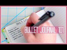 Bullet Journal 101 - YouTube