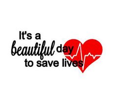 Its A Beautiful Day To Save Lives. Black vinyl writing with red vinyl heart decal. Perfect for your Yeti, computer, phone ... almost anywhere that is a hard flat surface. Not suitable for cloting unless it is a temporary one time use. Decals are made from professional permanent vinyl to last years. They are no re-usable. Once applied, they cannot be re-applied. Shipping is the same amount whether you order 1 or a dozen! Perhaps check out my other decals and see if there are any you wish to…