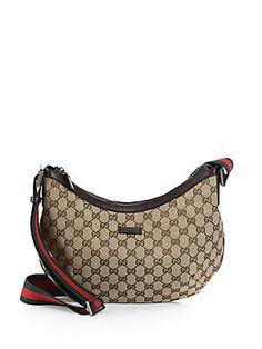 41c20c25e6e Gucci Original GG Canvas Messenger Bag Canvas Messenger Bag