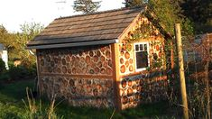 Log Round Shed by Salt Spring Community, via Flickr