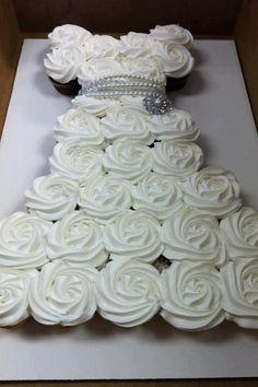 Wedding Shower Cupcakes! =] @Jenn L Milsaps L Milsaps L LaBara
