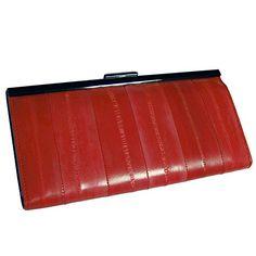 Rainbow Women's Metal Frame Wallet Long Leather Purse Gen…