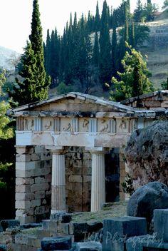Temple at Delphi.
