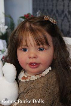Reborn Toddler Doll Katie Marie by Ann Timmerman Conny Burke IIORA