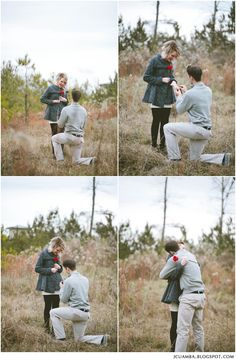 Oh how i would love to photograph a Surprise Proposal