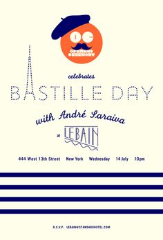 Bastille Day Poster -- we'll find some pretty paper options at Shindig