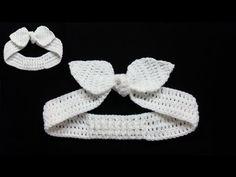 Crochet Headband Free, Crochet Belt, Crochet Baby Shoes, Crochet Slippers, Crochet Hooks, Knit Crochet, Crochet Hair Accessories, Crochet Hair Styles, Crochet Crafts