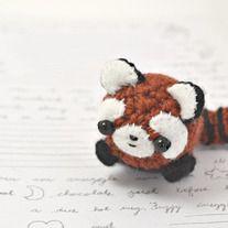 red panda kawaii amigurumi