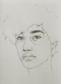 Sketchbook study by Lucy Pass   www.lucy-pass.com   #originalart #portrait #portraitartist #sketchbook #sketch #art #artist #oilpainting #drawing #pencil