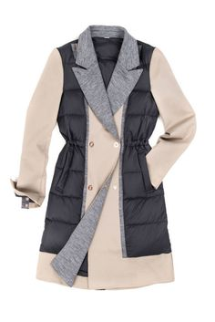 You'll never again have to choose between looking polished on your commute to work (and wearing a trench) or staying warm (and breaking out the puffer). This gorgeous topper has the tailored cut of the former with the warmth of the latter.Kit and Ace Ashford Trench, $348, kitandace.com.