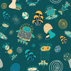 Stacey Ann Cole | Silly Aliens | The Ultimate Portfolio Builder | May 2015 class | Pattern Design Showcase | The Art and Business of Surface Pattern Design | Make it in Design