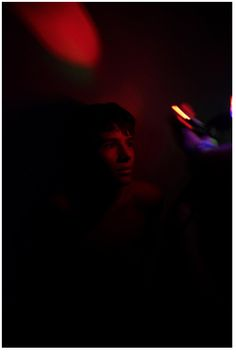 Kitra Cahana, American Teen (Series) // I am still not 100% sure about what drew me to this image. i think it might be the intense colours. i also find the image almost dreamlike, something out of this world