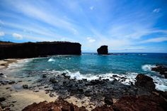 Have you ever seen Puu Pehe on the Island of Lanai? The iconic landmark is also known as Sweetheart Rock.