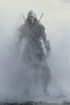 El ninja de humo