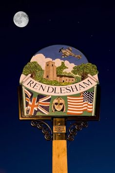 Rendlesham, Suffolk, village sign.