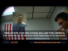 "Hidden Cameras Capture Clinton Campaign Staff in Nevada not Only Skirting the Law but Mocking it | Project Veritas Action -- In this latest video, Christina Gupana, a Las Vegas attorney and Hillary for America Fellow, counsels fellow campaign workers in Nevada that they should ""do whatever you can, whatever you can get away with just do it."" [...] 09/10/15"