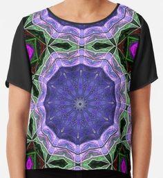 'A Green, Blue, Brown, Black, Ultraviolet Digital Mandala' T-Shirt by Beatrice Beute Ultra Violet, Blue Brown, Tshirt Colors, Female Models, Heather Grey, Classic T Shirts, Mandala, 3d, Digital