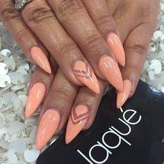 Stiletto spring nails @KortenStEiN