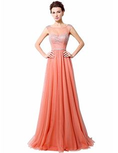 Belle House Women's Long Sheer Neck Prom Dresses Beaded Evening Gown Coral Belle House http://www.amazon.com/dp/B019Z2A9RC/ref=cm_sw_r_pi_dp_2Ol-wb043KTFA