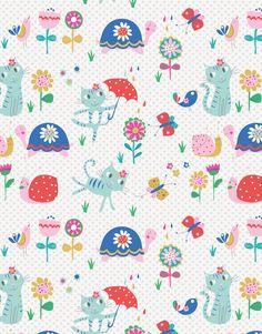 Garden Kitty by Rebecca Jones