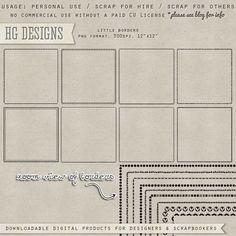 Download links sketchy  Scrapbooking TammyTags -- TT - Designer - HG Designs, TT - Item - Page Overlay, TT - Item - Border