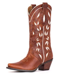Women's Sonora Boot - Bitterwater Brown - @Linda Lewis