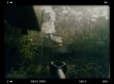 """Combat photography from the commander's cupola of South African Ratel 90 """"31-C"""" moments after destroying a People's Armed Forces of Liberation of Angola T-54 tank. Although lacking heavy armor, the Ratel 90s were able to run rings around the opposition's obsolete and poorly-crewed tanks, especially in the dense bush."""