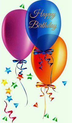 Balloons For Birthday Te Deso Un Ecplendido Dia Pablo HappyBirthday