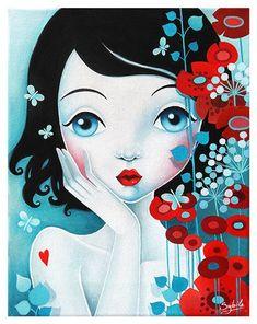 Bel Art, Art Beauté, L'art Du Portrait, Art Mignon, Beauty Art, Pretty Art, Cute Illustration, Face Art, Art Girl