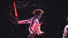 EXO ! Star Wars lightsaber fanart Sith KAI