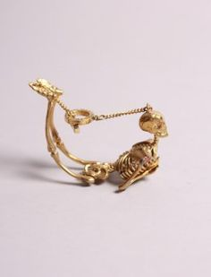 Skeletalle Bracelet from Old Gold Boutique, for Day of the Dead