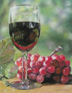 Looking Glass  (pastel) by Connie Sonnenberg on ARTwanted