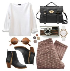 Untitled by hanaglatison on Polyvore featuring moda, Sessùn, Acne Studios, Mulberry and Burberry