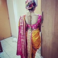 Kashta Saree, Sari, Marathi Saree, Nauvari Saree, Sexy Blouse, Indian Beauty Saree, Blouse Designs, Dresses, Women