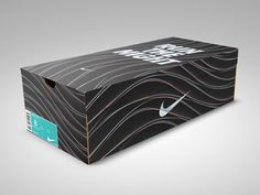 Nike // Run The Night on Packaging Design Served Shoe Box Design, My Design, Sport Design, Graphic Design, Packing Box Design, Work Out Routines Gym, Healthy Cat Treats, Designer Shoes, Packaging Design