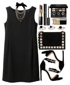 """""""Untitled #4452"""" by natalyasidunova ❤ liked on Polyvore featuring Uniqlo, Tomasini, Bobbi Brown Cosmetics, Forte Forte and Chanel"""