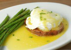Sweet Potato Eggs Benedict.  YUMMMY!