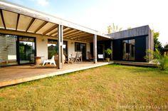 Bordeaux : Maison d'architecte à toit plat