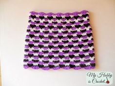 My Hobby Is Crochet: Hypnotic Heart Crochet Cowl - Free Pattern with Tutorial